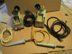 Lot Of 2 - Weller Soldering Station Wtcpl - For Parts