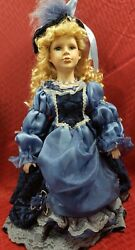 Dandee Collectors Choice Limited Edition Porcelain Doll Blue Eyes Vintage