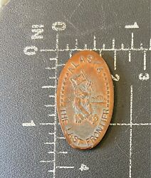Alaska Ak The Last Frontier Bear Elongated Penny Mule Anchorage Grizzlyandrsquos Gifts