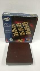 Wooden Tic Tac Toe Game Wooden Game Pieces With Brass Finish 5 X 5 Toys R Us