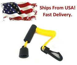 Aftermarket Dess Ignition Key Cap And Floating Lanyard Replaces Seadoo 278002199