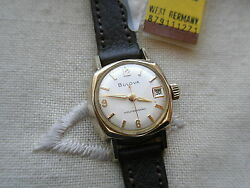 Stunningextremely Rare 1966 Vintage Lady Bulovaswiss 17 Jewels Autoserviced
