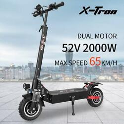 X-tron 10 Inch Dual Motor Electric Scooter 52v 2000w 65km/h Off-road