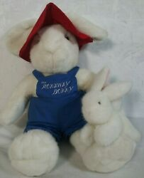 Runaway Bunny Mom And Baby Margaret Wise Brown Plush Toy Stuffed Animal 22