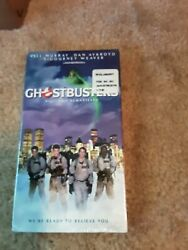 Ghostbusters Vhs 1999 Closed Captioned Digitally Remastered Brand New Sealed