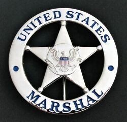 Theatrical Prop United States Marshal Badge Us Marshal
