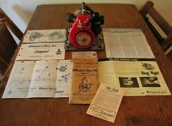 Tiny Tiger Generator Model 300 Ohlsson And Rice Compact Industrial Engines + Paper