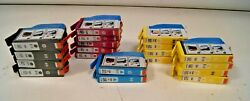 Sets + Extras Genuine Hp 564 And 564xl Black Tri-color Ink Cartridge Lot Of 19