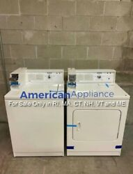 Kenmore Coin Op Washer Dryer For Sale Only In Ri Ma Ct Nh Vt And Me