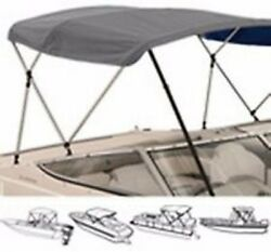 3 Bow Medium Profile Bimini Tops For Boats Fits 46h X 72andrdquol X 67 To 72 Wide