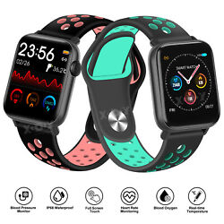 Xgody Fitness Smart Watches Heart Rate Women Lady Sport Tracker For Ios Android