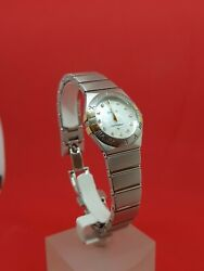 Omega Constellation Diamond Yellow Gold And Steel 12320246055006 2018 Ex Display