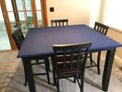 Felt Style Poker Table Cover Speed Lite For 52 - 54 Square Glass Table + Pd Fs