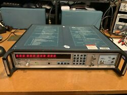 Eip 548a Microwave Frequency Counter With Options 06 And 08 10hz - 26.5 Ghz