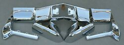 X Cadillac New Triple Plated Chrome Front Bumper 1970 70 Oem