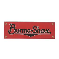 Classic Burma Shave Reproduction Sign