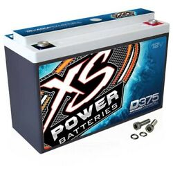Xs Power D375 Absorbed Glass Mat 15 Amp Hour 600w 12v Car Battery