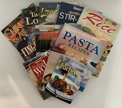 Family Circle Women's Weekly X11 Cookbooks Recipes Pasta Microwave Asian Low Fat