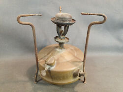 Antique Stove In Oil A. B.radius Made In Sweden Stockholm Vintage