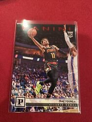 2018-19 Panini Chronicles Basketball 131 Trae Young Red 15/149 Rookie Rc