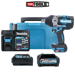 Makita Tw001gd102 40v Max Xgt Brushless Impact Wrench With 1 X 2.5ah Battery