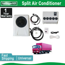 Truck Air Conditioning System For Truck Rv Bus 2 Volt Tractor Air Conditioner