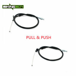 Racing Throttle Cable Pull And Push Wire Line For Suzuki Gsxr 600 750 1000 01-03