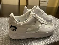 Nike Air Force 1 X Olivia Kim Betty Boop Friends Family Edition Sneaker Us 7.5