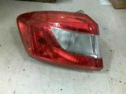 Driver Tail Light Vin B 4th Digit New Style Fits 16 Cruze 2902532