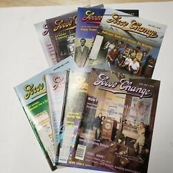 Vintage Lot Of 8 Loose Change Magazines Coin Op Slot Machines 1989-1993