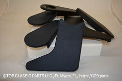 Interior Seat Hinge Covers For Mercedes Benz R107 - - Mb-tex - Light Gray - ...