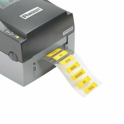 H100x034h1t-2 Thermal Label For Two-sided Heatshrink Tubing White 1000ea