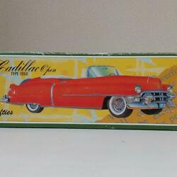 Cadillac Red Open Type Tin Toy 50's Fifties With Box Vintage Super Rare F/s