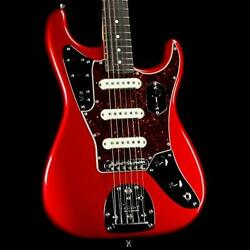 New Fender Limited Edition Jag Stratocaster Rosewood Fingerboard Candy Apple Re