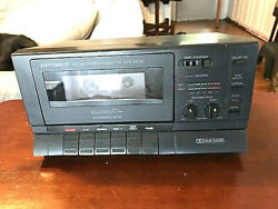 Realistic/optimus Sct-86 Cassette Deck Player Recorder W/ Dolby 14-654 Serviced
