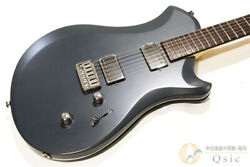 Used Mint Relish Guitars Rocky A Mary Black Electric Guitar Free Shipping