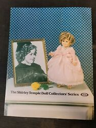 Ideal Doll Catalog Pamphlet Brochure 1982 The Shirley Temple Collectors' Series