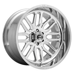 22 Inch 6x135 4 Wheels Rims 22x12 -43mm High Luster Polished Fuel 1pc D721