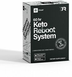 Pruvit Keto Rebootandreg System - 60 Hours Supplement For Resetting Your Metabolism
