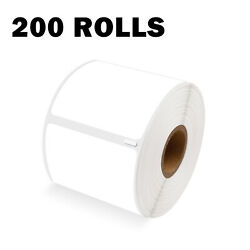 200 Rolls Shipping Labels 30256 For Dymo Labelwriter 450 Turbo 2-5/16 X 4