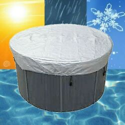 Ukround Tub Cover Weather Protector Spa Cover Harsh Weather Guard Oxford Cloth
