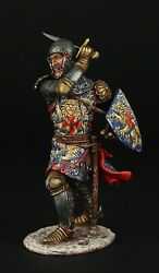 Tin Soldier, Museum Top English Knight, 1340-1360, 90 Mm, Medieval