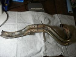2000 2001 2002 2003 Ktm Rfs 450 525 Exhaust Header And Mid Pipe