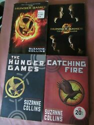 Lot Of 4 The Hunger Games Books