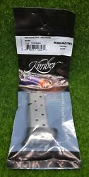 Kimber Micro 9 9mm Luger 8 Round Oem Magazine Stainless Steel - 1200848a