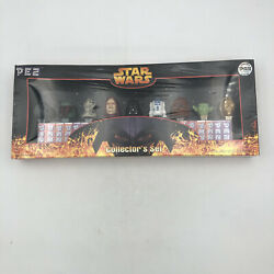 Pez Star Wars Collector Box Set Limited Edition Collectible Sith Jedi Dispenser