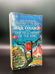 The Fellowship Of The Ring - First Edition / Printing - Tolkien 1954 Lord Rings