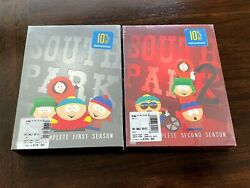 New - South Park Dvd Lot The Complete First And Second Seasons Sealed