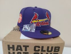 Hat Club Exclusive Daybreakers St Louis Cardinals New Era 25th Anniversary Patch