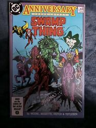 Swamp Thing 50 Signed By John Totleben 1st Justice League Dark. Vf+ Alan Moore
